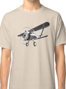 Retro fighter plane Classic T-Shirt