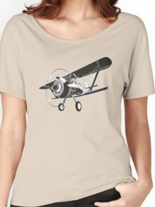 Retro fighter plane Women's Relaxed Fit T-Shirt