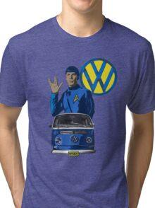 Spock ride VW Tri-blend T-Shirt