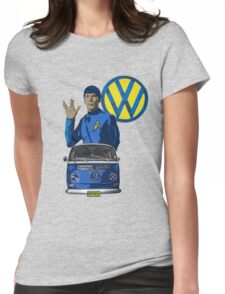 Spock ride VW Womens Fitted T-Shirt
