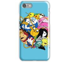 Adventure time all character iPhone Case/Skin