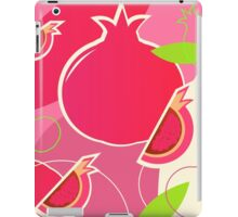Fresh Pomegranate fruit design iPad Case/Skin