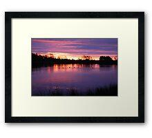 Dawn of Civil Twilight Framed Print