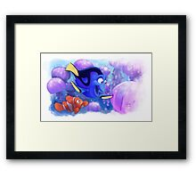 Finding Nemo - I shall call him Squishy Framed Print