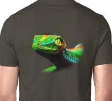 Gecko Lizard Close up 3d digital Art Unisex T-Shirt
