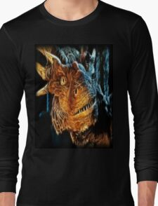 Draco The Dragon From The Hit Dragonheart Movie Long Sleeve T-Shirt