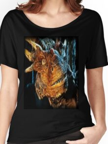 Draco The Dragon From The Hit Dragonheart Movie Women's Relaxed Fit T-Shirt