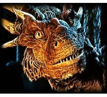 Draco The Dragon From The Hit Dragonheart Movie Photographic Print