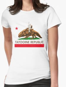 Tatooine Republic Womens Fitted T-Shirt