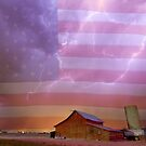 American Country Stormy Night by Bo Insogna