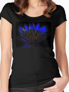 Singing the Blues Women's Fitted Scoop T-Shirt