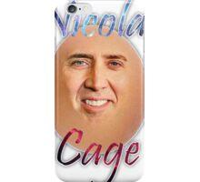 Nicolas ''Egg'' Cage iPhone Case/Skin