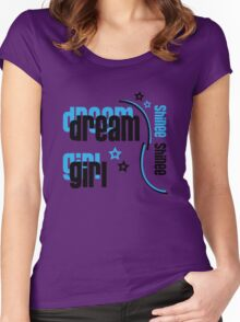 Dream Girl Women's Fitted Scoop T-Shirt