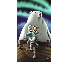 Lyra of the Golden Compass Photographic Print