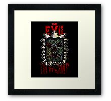 The Evil Thwomp Framed Print
