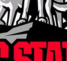 NC State sticker Sticker