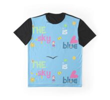 The Sky Is Blue Graphic T-Shirt