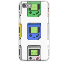 Game Boy Faces iPhone Case/Skin