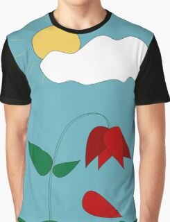 Red Petals... Graphic T-Shirt