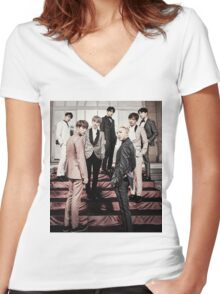 BTS EPILOGUE  Women's Fitted V-Neck T-Shirt