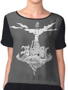 The Lighthouse Chiffon Top