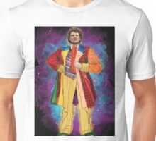Colin Baker as Doctor Who Unisex T-Shirt