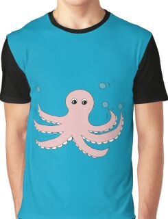 Octo the Octopus  Graphic T-Shirt