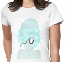 Humanoid Napstablook Womens Fitted T-Shirt
