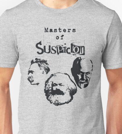 Masters of Suspicion Unisex T-Shirt