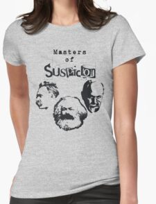 Masters of Suspicion Womens Fitted T-Shirt