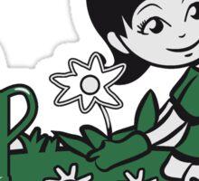 Garden watering flowers plants Sticker