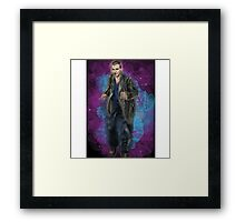 Christopher Eccleston as Doctor Who Framed Print