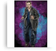 Christopher Eccleston as Doctor Who Canvas Print