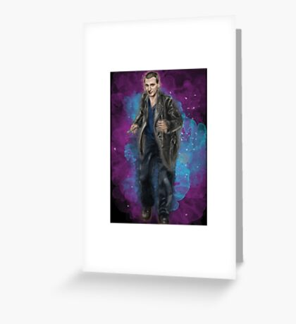 Christopher Eccleston as Doctor Who Greeting Card