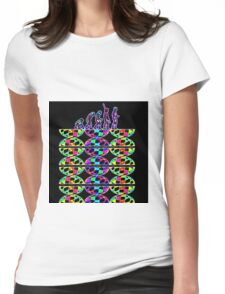 EVOLUTION & DNA Womens Fitted T-Shirt