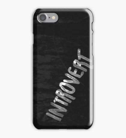 Introvert Deep Dark Forest iPhone Case/Skin
