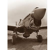 P-40 Warhawk - World War 2 Photographic Print