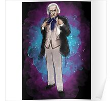 William Hartnell as Doctor Who Poster