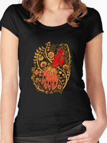 Firebird Khokhloma Women's Fitted Scoop T-Shirt