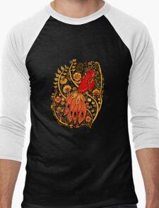 Firebird Khokhloma Men's Baseball ¾ T-Shirt