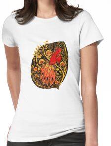 Firebird Khokhloma Womens Fitted T-Shirt
