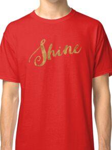 Golden Look Shine Classic T-Shirt