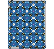 Bumblebee and Daisy Pattern iPad Case/Skin