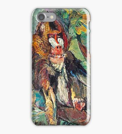 The Mandrill iPhone Case/Skin