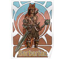 Barbarian Nouveau Poster