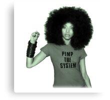pimp the system Canvas Print