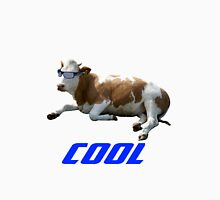 Cool Cow with Sunglasses Unisex T-Shirt