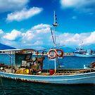 The Greek Fishing Boat by vivsworld