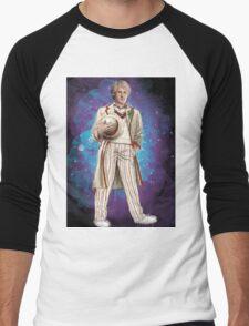 Peter Davidson as Doctor Who Men's Baseball ¾ T-Shirt
