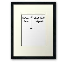 Future Love Framed Print